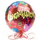 Personalized balloon says Congratulations