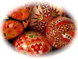 Unusual and individual gift of Pysanky eggs