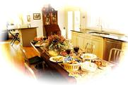 Celebrate Thanksgiving with guests